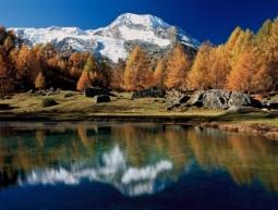 Le Mont Pourri vu depuis le Monal