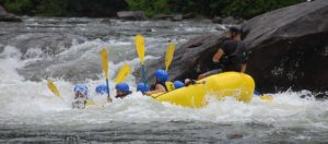 Descente en Rafting sur l'isere