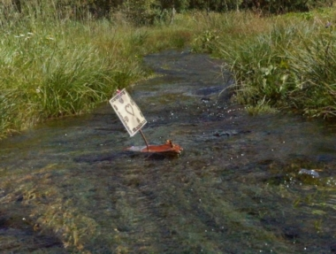 Jeux dans les ruisseaux